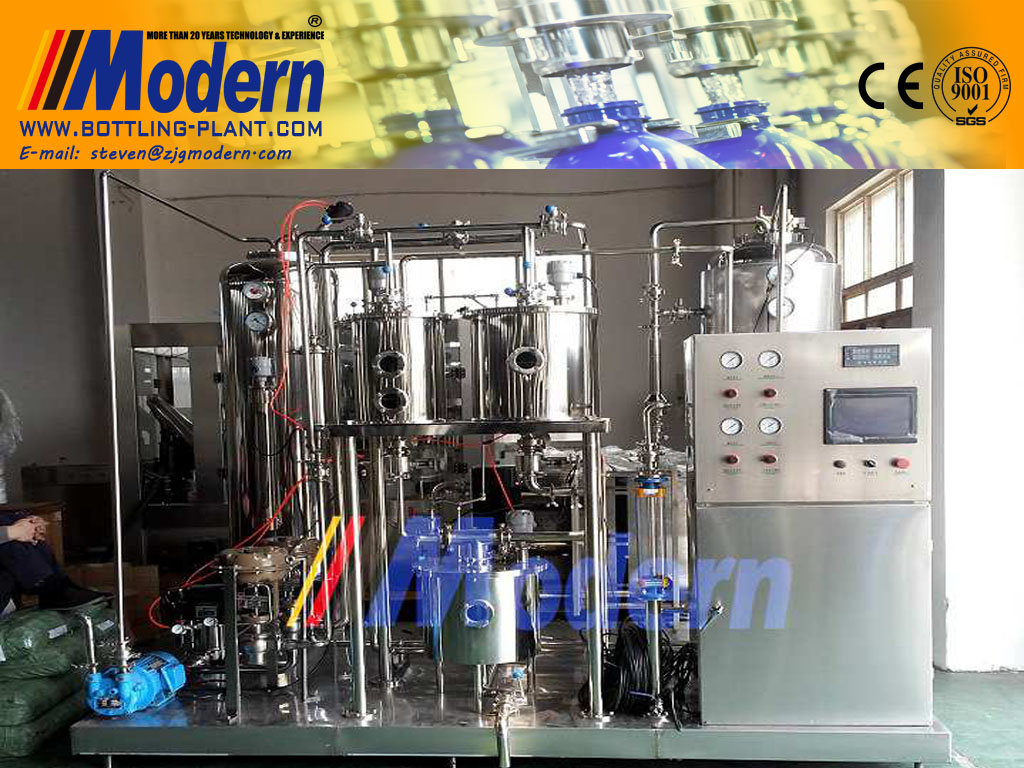 Soft Drink Carbonation Machine
